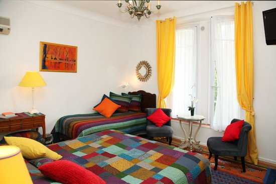 Hotel Le Pre Catelan : Triperoom with 3 beds