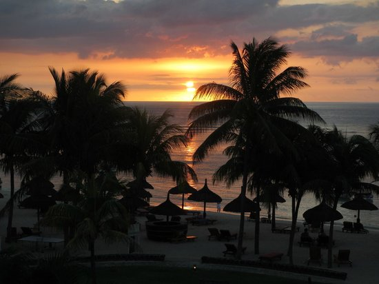 Le Meridien Ile Maurice : Sunset from Room