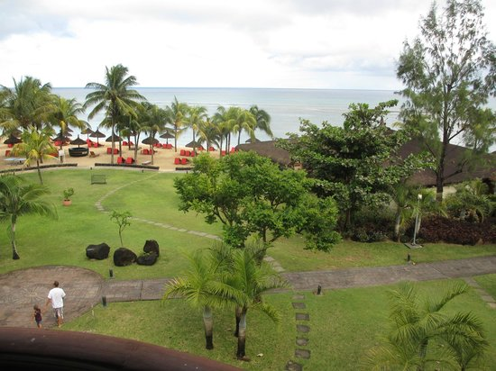 Le Meridien Ile Maurice : Daytime view from Room