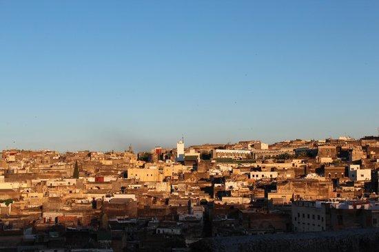 Dar 7 Louyat : vue de la terrasse