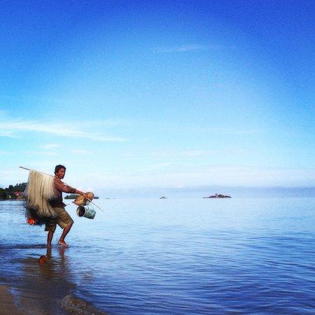 Langkah Syabas Beach Resort : Fisherman