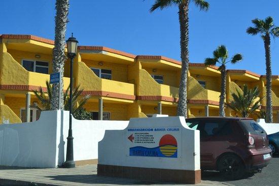 Bahia Calma Bungalows: Señal indicadora del apartamento