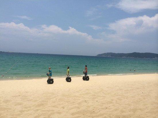 Yalong Bay: Сегвей