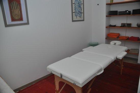 Le Clos Geraldy : Salle de Massages