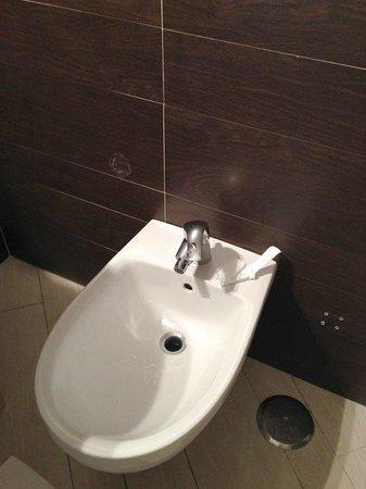 Hotel Ferdinando II: Ganci assenti per appendere gli asciugamani