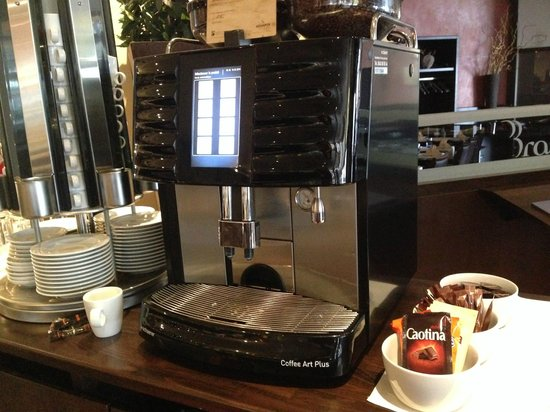 Mövenpick Hotel Lausanne: Don't miss the awesome Movenpick coffee