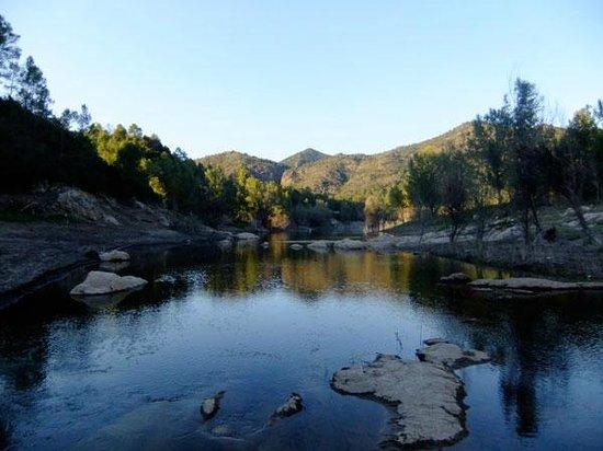 Sant Llorenc de la Muga, Spain: Riu Muga / The Muga River