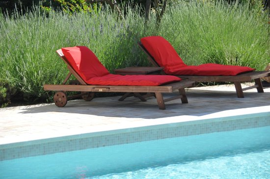 Le Clos Geraldy : piscine