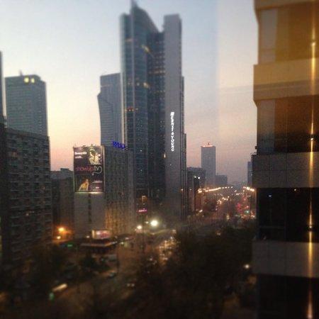 The Westin Warsaw: Dawn in Warsaw