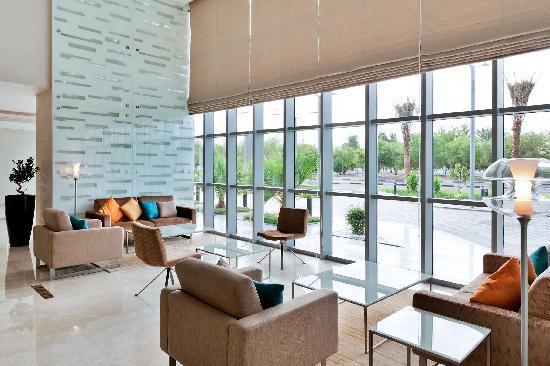 Novotel Abu Dhabi Gate: Hotel Reception