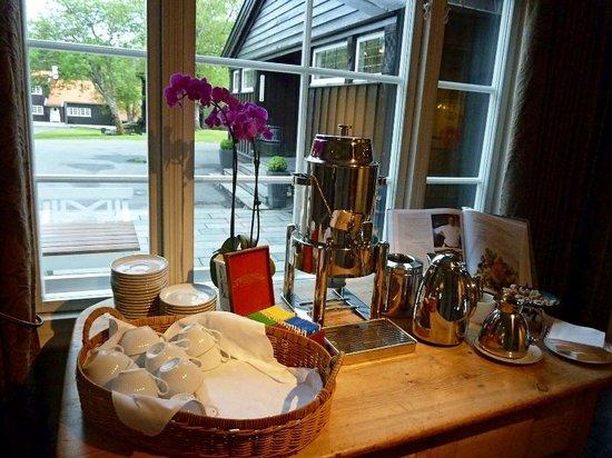 Lysebu: caffè-tee posticino