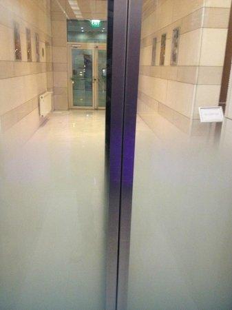 Hilton Sofia: Entrance of the elevator