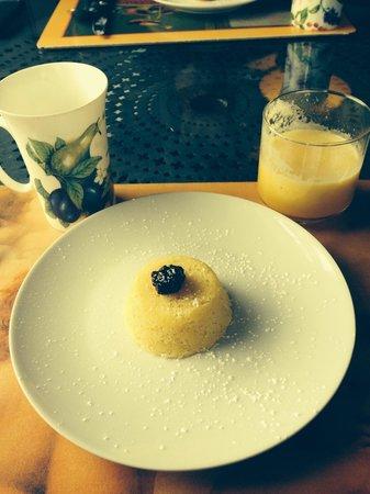Pomegranate Inn: Lemon corn polente