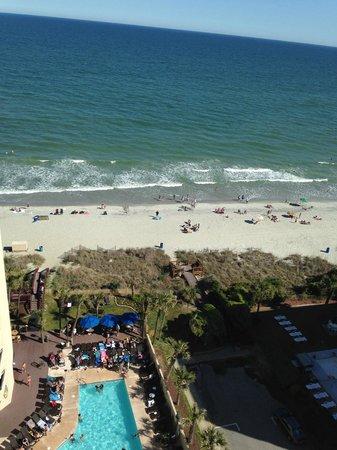 Ocean Reef Resort: The view from 1519