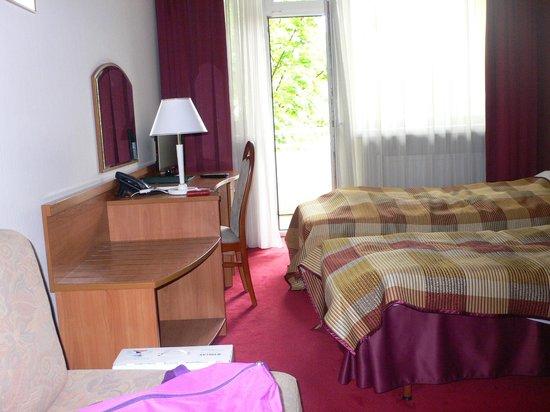 Hotel Wyspianski: чудесный балкон за окном