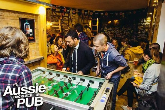 Riga Old Town Hostel & Backpackers Pub: FREE Foosball Table