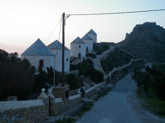 Hotel Miramare: wind houses and castle madonas