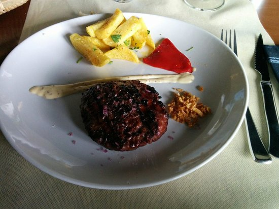 Azabache: Haburguesa de buey. Mayo 2014