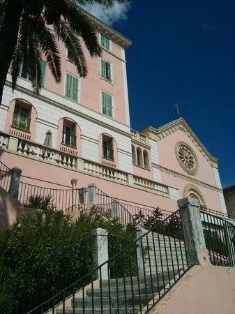 Le Saint Paul : Vue d'en bas des escaliers
