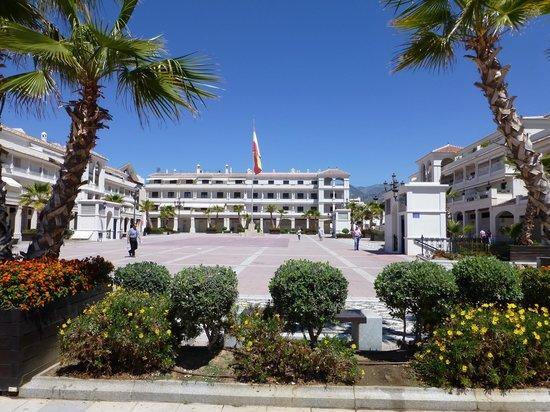 Hotel Mena Plaza: Plaza de Espana
