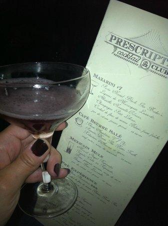 Photo of Restaurant Prescription cocktail club at 23 Rue Mazarine, Paris 75006, France