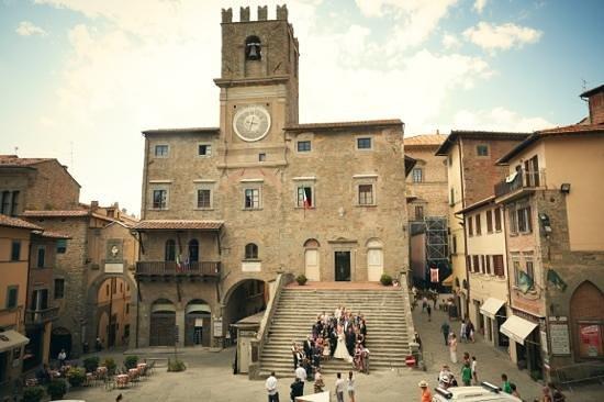 Villa San Crispolto: town hall