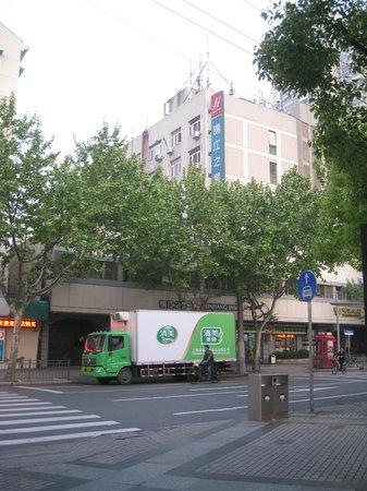Jinjiang Inn (Shanghai Luwan Liyuan): ホテルの外観