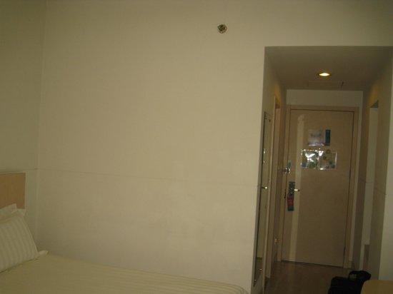 Jinjiang Inn (Shanghai Luwan Liyuan): 部屋・奥のほうからの眺め