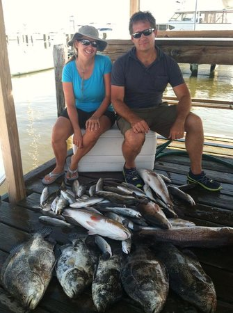 Southern comfort charters waveland ms omd men for Ms fishing report