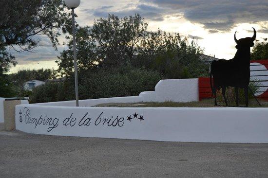 Camping La Brise : ingresso dalla spiaggia