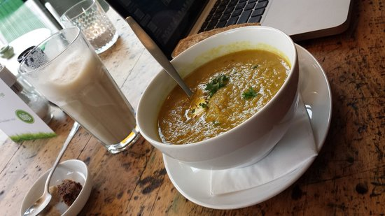 De keuken van Thijs : Soup of the day--Leeks and Curry