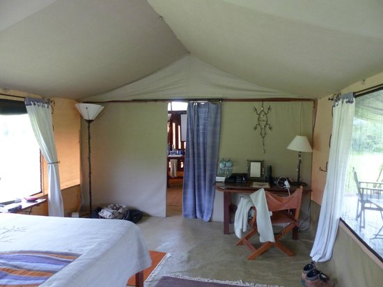 Kwihala Camp, Asilia Africa: our tent