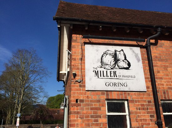 The Miller of Mansfield: Miller Logo