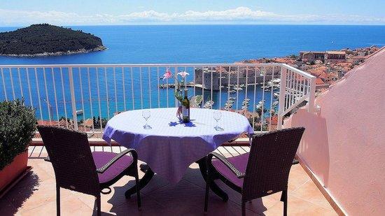 Pension Stankovich : terrace