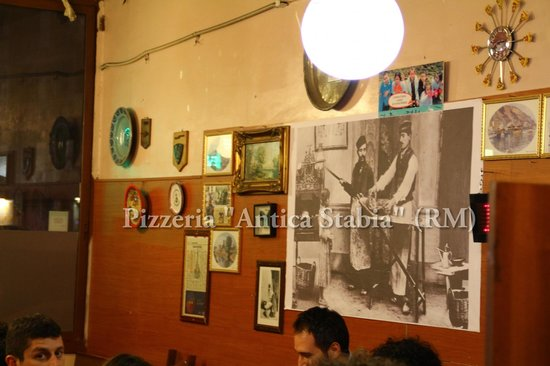 Pizzeria Antica Stabia: interno Pizzeria