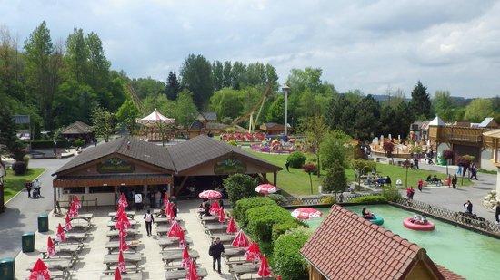 Dennlys Parc : Le parc vu de la grande roue