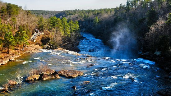 Little River Canyon National Preserve: View from above Little River Falls
