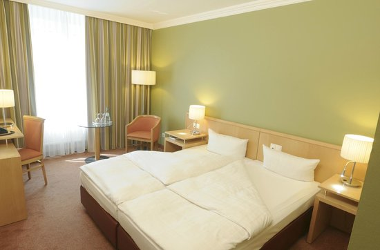 Upstalsboom Hotel Friedrichshain: Doppelzimmer Standard Grün
