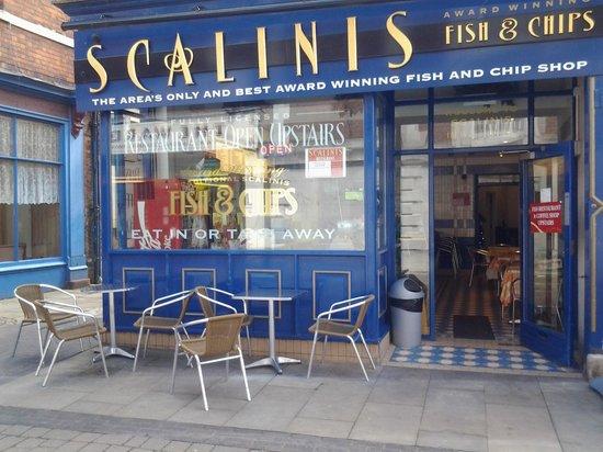 Scalini's: Award winning Fish and chip shop