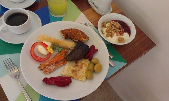 Yazar Hotel: het ontbijt
