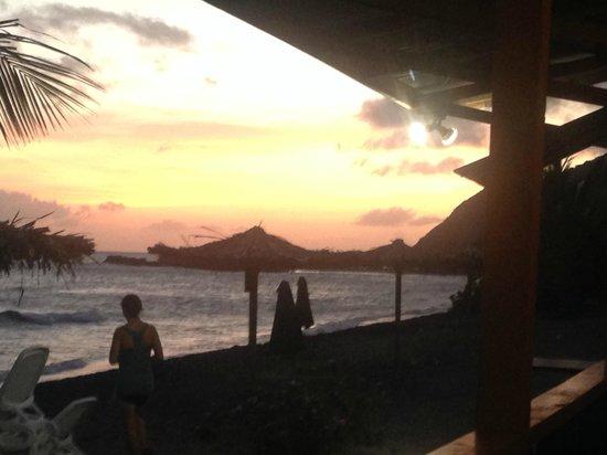 Jam Rock: Sunset from my phone