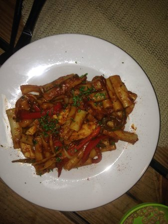 Jam Rock: Pasta with Chicken and Tomato Sauce