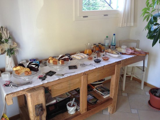 Ladino Room & Breakfast: Breakfast