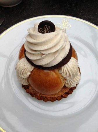 Meert Restaurant : SAINT HONORE VANILLE