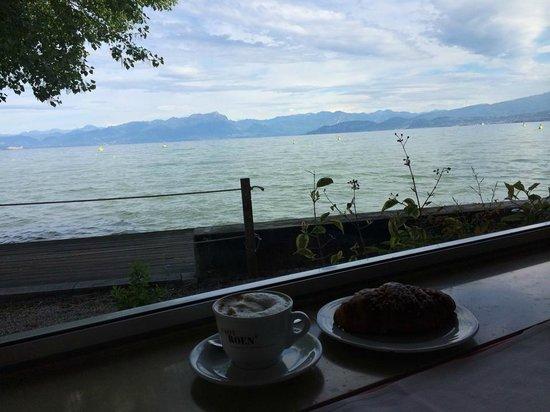 Hotel Gasparina : Colazione sul lago
