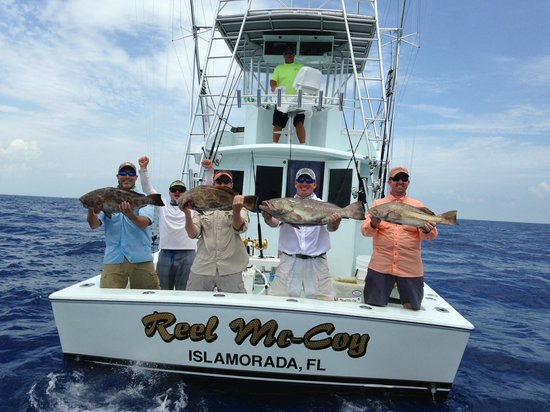 Scammed by capt george and reel mccoy picture of bud n for Bud n mary s fishing report