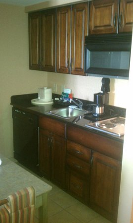 Homewood Suites Pensacola-Arpt (Cordova Mall Area) : Kitchen in suite