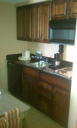 Homewood Suites Pensacola-Arpt (Cordova Mall Area) : Kitchen in suite