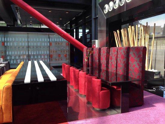 NH Collection Barcelona Tower: Lobby / bar