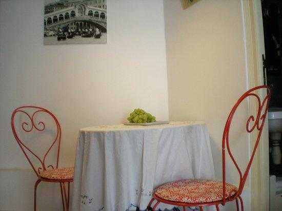 "La Locandiera: ""Tea for two"" i studion bottenvåningen."